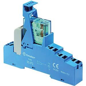 Coupling relay — push-in, one changeover contact, 230 V AC FINDER 48P682300060