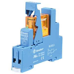 Coupling relay, 1 changer, 10A, 24VAC FINDER 49.31.8.024.0060