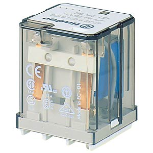 Power relay — plug-in, 1 NO contact, 12 V DC FINDER 623190124800