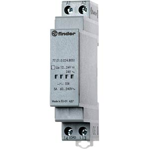 Load relay, 5 A, instantaneous value switch, 24 V FINDER 770100248051