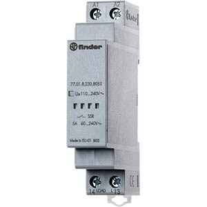 Load relay, 5A, zero-cross switch, 240V FINDER 770182308050