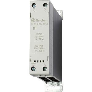 Lastrelais, 15 A, Nulldurchgangsschalter, 24V FINDER 771190248250