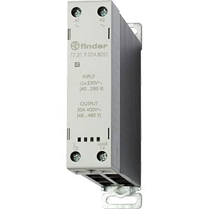 Load relay, 30A, instantaneous value switch, 24V FINDER 773190248051