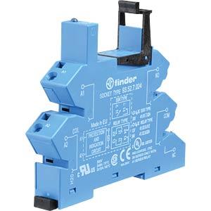 Relaissockel für: FIN 41.52/.61/.81, blau FINDER 93527024