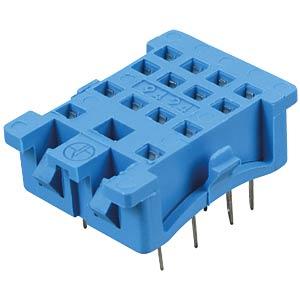 Relaissockel für: FIN 55.32/.34, blau FINDER 94.24