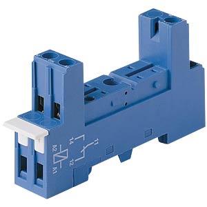 Relaissockel für: FIN 40.31 / 41.31, blau FINDER 95.83.3 BEZ