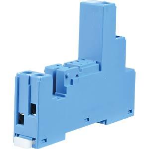 Relaissockel für: FIN 46.61 / 86.30, blau FINDER 97.01.
