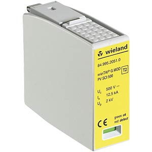 Replacement module outside f. GM YPV SCI-1000 WIELAND 84.995.2051.0