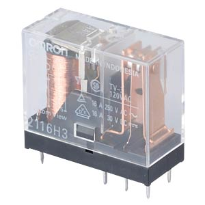 Printrelais - 1x NO/NC, 16 A, 12V DC OMRON G2R1E12DC