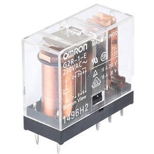 Printrelais - 1 Wechsler, 16 A, 230 V AC OMRON G2R-1-E 230AC