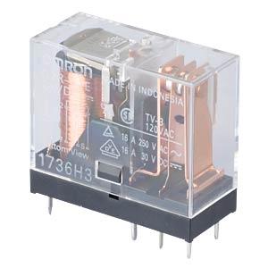 Printrelais - 1x NO/NC, 16 A, 24 V DC OMRON G2R1E24DC