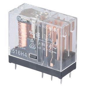 Printrelais - 2x NO/NC, 5 A, 12V DC OMRON G2R212DC