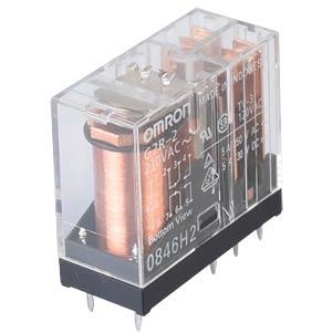 Printrelais - 2x NO/NC, 5 A, 230 V AC OMRON G2R2230AC