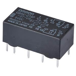 Printrelais - 2 Wechsler, 2 A, 5 V DC OMRON G6AK-274P-ST-US  5DC