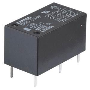 Printrelais - 2 Schließer, 5 A, 12 V DC OMRON G6B2214PUS12DC