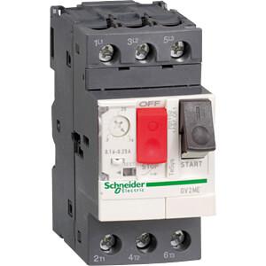 Motorschutzschalter, TeSys GV2, 3 pol, thermomagnetisch SCHNEIDER ELECTRIC GV2ME10