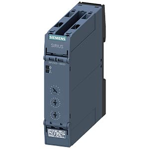 Multi-function timing relay — 2 changeover contacts, 12 - 240 V SIEMENS 3RP2505-1BW30