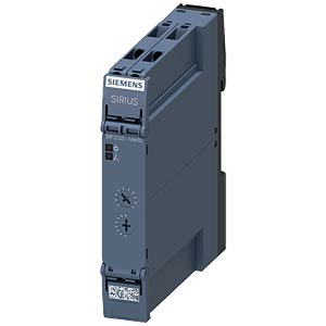 Electronic timing relay — 1 changeover contact, 12 - 240 V AC/DC SIEMENS 3RP2525-1AW30