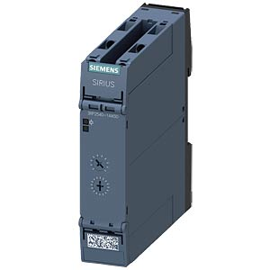Timing relay — 1 changeover contact, 12 - 240 V AC/DC, off-delay SIEMENS 3RP2540-1AW30