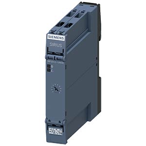 Electronic timing relay — 1 changeover contact, 12 - 240 V AC/DC SIEMENS 3RP2512-1AW30