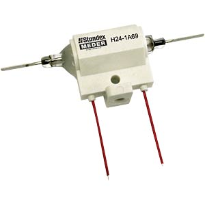 High-voltage reed relay, 24 V, 1 NO, 3 A MEDER 1924183110