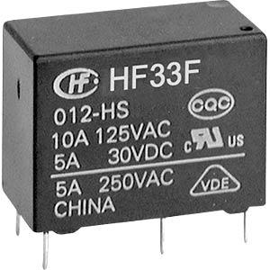 HF33F-012-HSL3F - Zwischenleistung-Relais subminiatur
