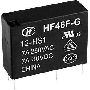 HF46F-G-12-HS1 - Zwischenleistung-Relais subminiatur