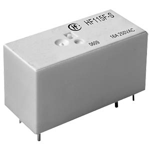 Mini. High Power Relay 24V, 1NO, 16A, sealed HONGFA HF115F-S/024-HSF