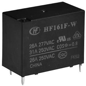 Power- Relais 12V, 1 Schließer, 20A HONGFA HF161F-W/012-HT