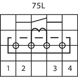 Reedrelais, Sil, 12V, 1 Schließer, Ri=700 Ohm MEDER MS12-1A87-75L