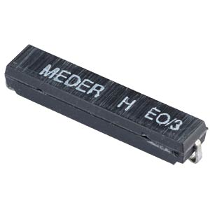 Reed sensor, 100 V, 0.5 A, change-over contact MEDER 2211000008