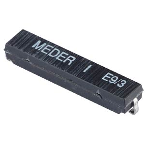 Reed sensor, 100 V, 0.5 A, change-over contact MEDER 2211000009