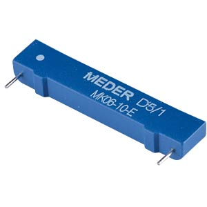 Reed sensor, 180 V, 0.5 A, bistable normally open contact MEDER 2261071700