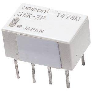 Subminiature relay, 2 x UM, 125VAC/60V 1A, 5V OMRON