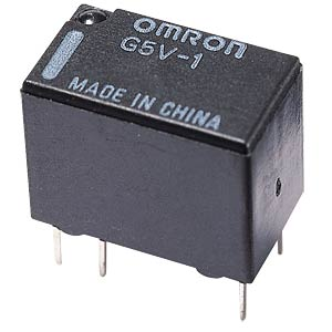 Subminiature relay, 1 x UM 250V 10A, 24 V OMRON G5LE-1