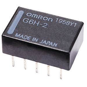 Subminiature relay, 2 x UM, 125/110V 1A, 12V OMRON