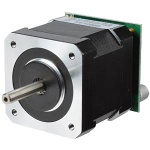 Stepper motor with integrated power amplifier TRINAMIC PD-013-42