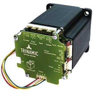 Pandrive 86 mm/NEMA 34 stepper motor+controller TRINAMIC PD86-3-1180-TMCL