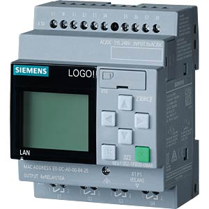 LOGO!8.3 230RCE Logikmodul mit Display SIEMENS 6ED1052-1FB08-0BA1
