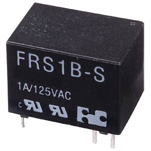 Subminiature relay FRS1 24 VDC, 1 changer 1 A FREI