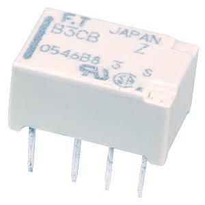 Subminiature relay FTR-B3 24 VDC, 2 changers  1 A FUJITSU-TAKAMISAWA