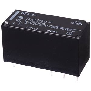 Miniature power relay FTR-F1 12 V, 2 changers, 5 A FUJITSU-TAKAMISAWA