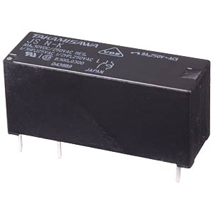 JS miniature power relay, 24 V, 1 NO, 8 A FUJITSU-TAKAMISAWA