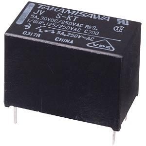 Miniature power relay JV, 12V, 1 NO, 5A FUJITSU-TAKAMISAWA