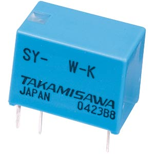 Subminiatur-Relais SY 12 VDC, 1 Wechsler  1A FUJITSU-TAKAMISAWA