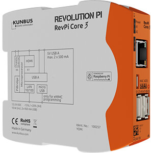 Revolution Pi Core 3 KUNBUS PR100257