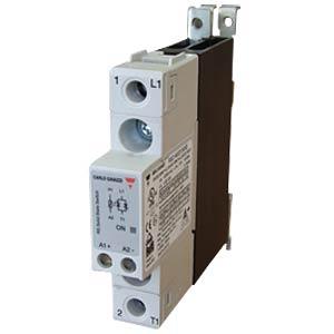RGC semiconductor relay, type 600 V AC, 20 A AC CARLO GAVAZZI RGC1A60D15KKE