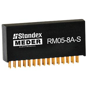 Reed relay, 5 V, 1 NO, 0.5 A MEDER 9605080001
