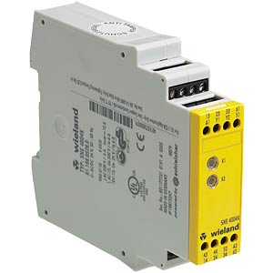 Safety relay SNE 4004KV-A3 24 V DC WIELAND R1.188.0490.0