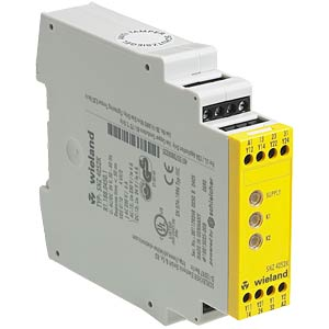 Safety relay, SNZ 4052K, 24 V AC/DC WIELAND R1.188.0450.1